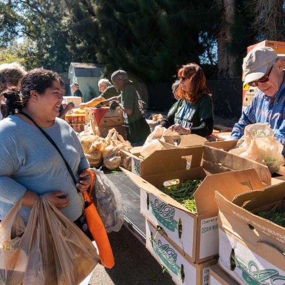 Farmer's market provides fresh produce for low-income residents of Pinellas County, FL